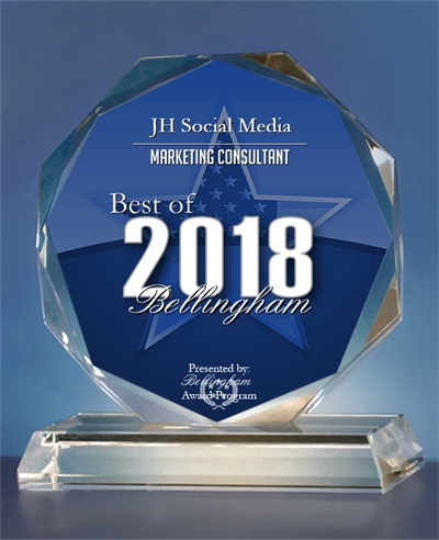 Congratulations to the best social media consultant in Bellingham!